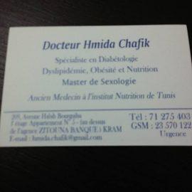 Dr HMIDA Chafik