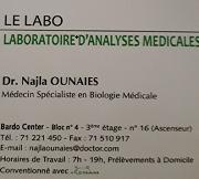 Dr Najla OUNAIES
