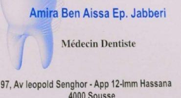 Dr Amira Ben Aissa Ep Jabberi